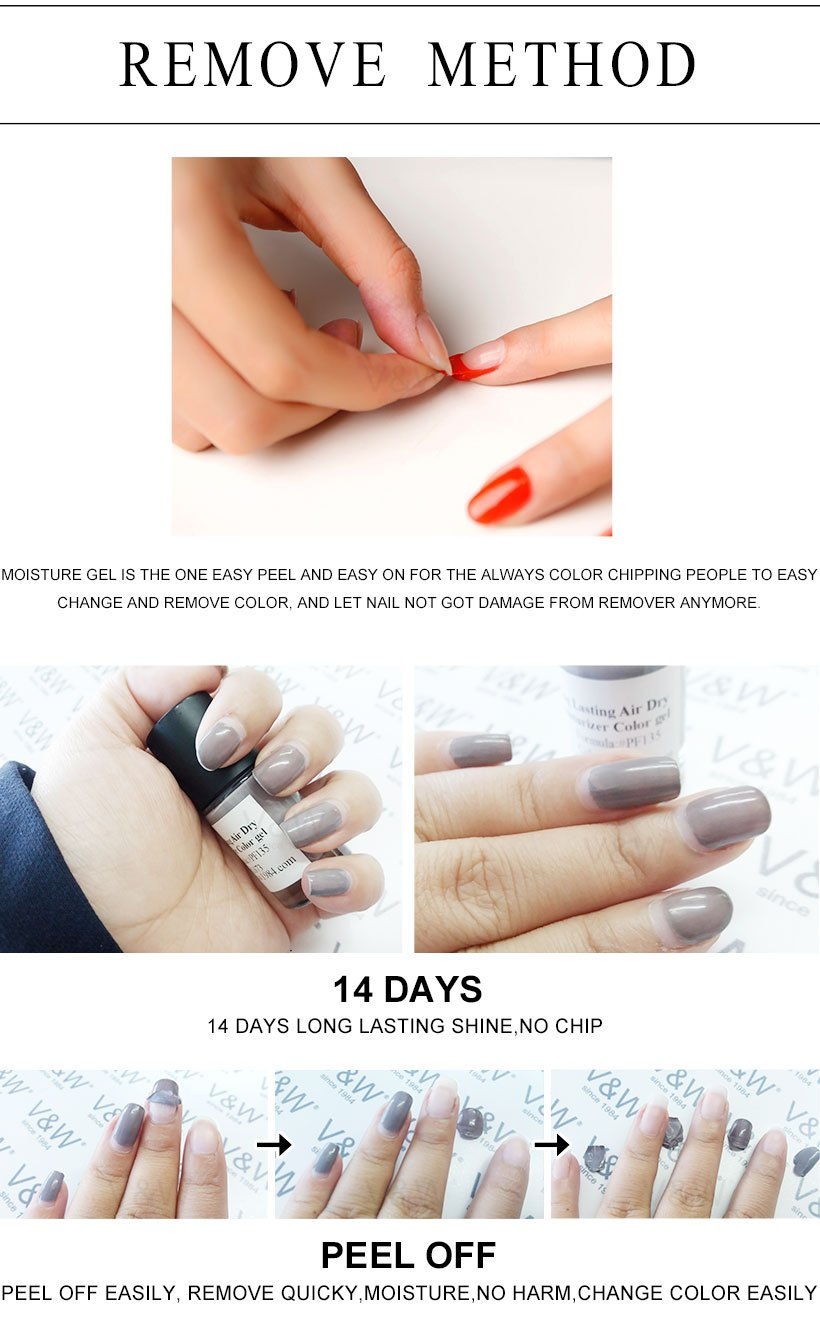 Air Day Moisture Base Coat And Top Coat 2in1 | Air Dry Gel Nail ...