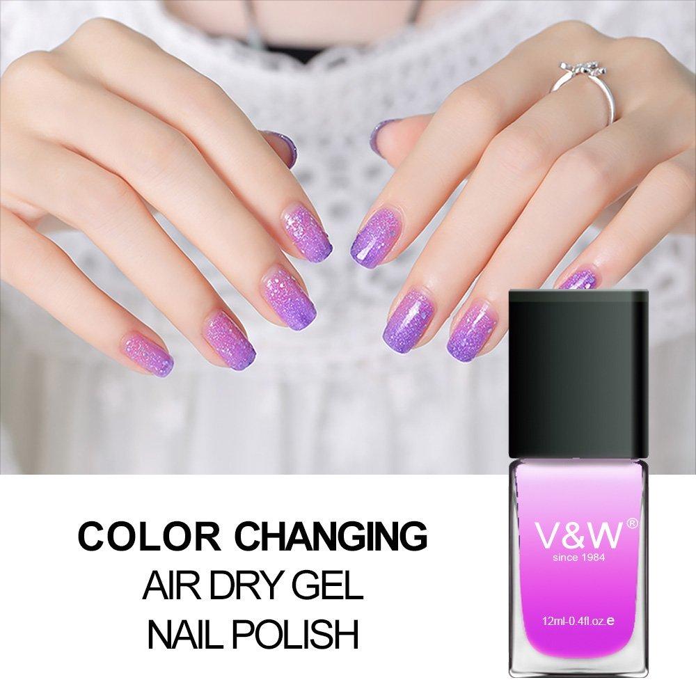 Find Color Changing Air Dry Gel Nail Polish | Gel Nail Polish ...