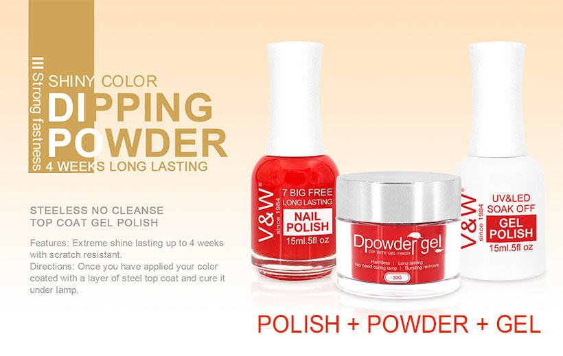 Best Easy Remove Quick Gel Nail Acrylic Dipping Powder System & New ...